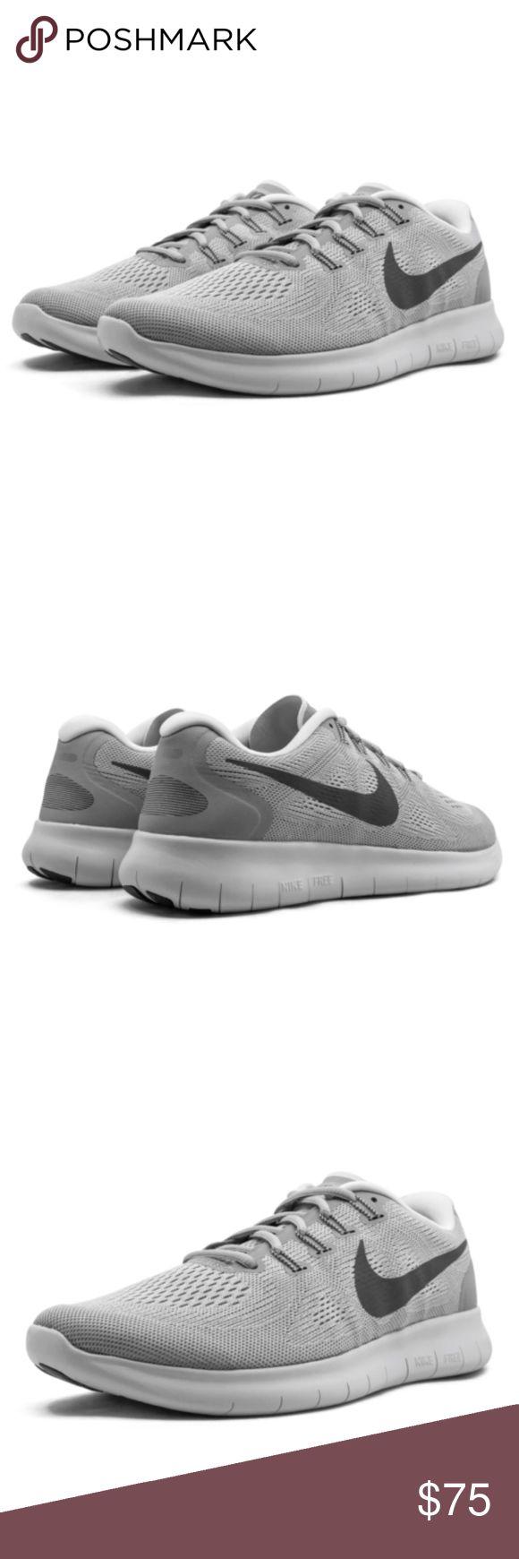 Nike FREE RN 2017 Herren-Laufschuh – Wolf Grey Entwickelt für kurze Laufstrecken, …