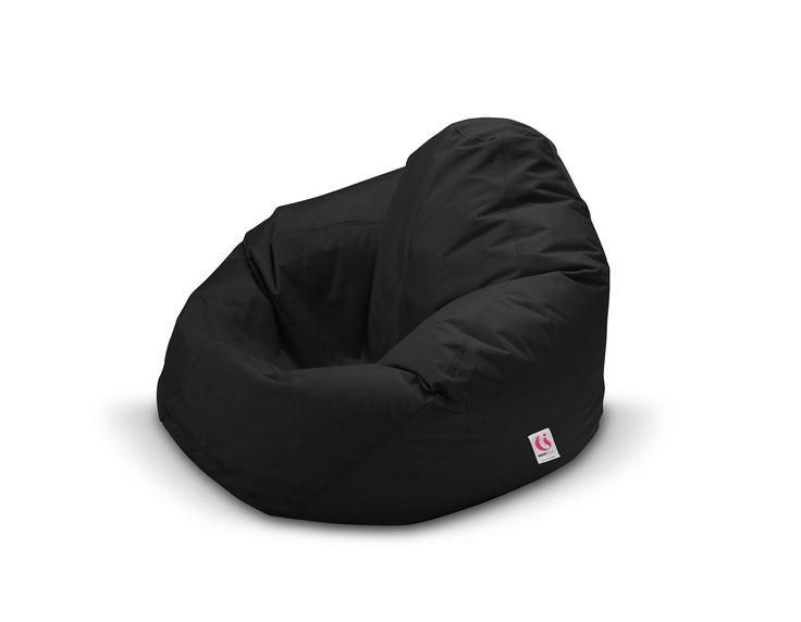 Indosoul Monsoon Outdoor Bean Bag - Black