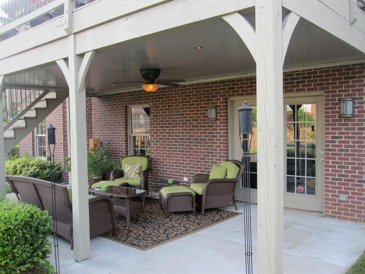 find this pin and more on patio ideas undercover systems llc underdeck - Under Deck Patio Ideas