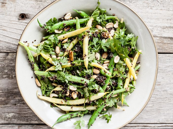 nice salads salads you ll grains salads eats salads picking beans farm ...