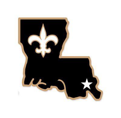 "New Orleans Saints NFL car bumper sticker decal (5"" x 5"") SportZone http://www.amazon.com/dp/B00EQD7ZVE/ref=cm_sw_r_pi_dp_BJZLvb1DTKGRQ"