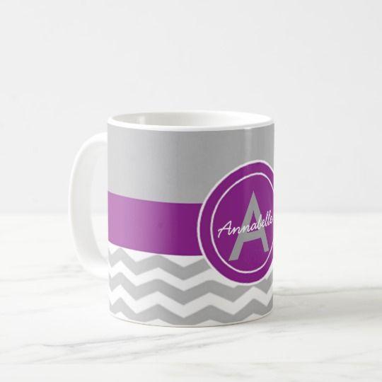 Gay purple chevron coffee mug #ad