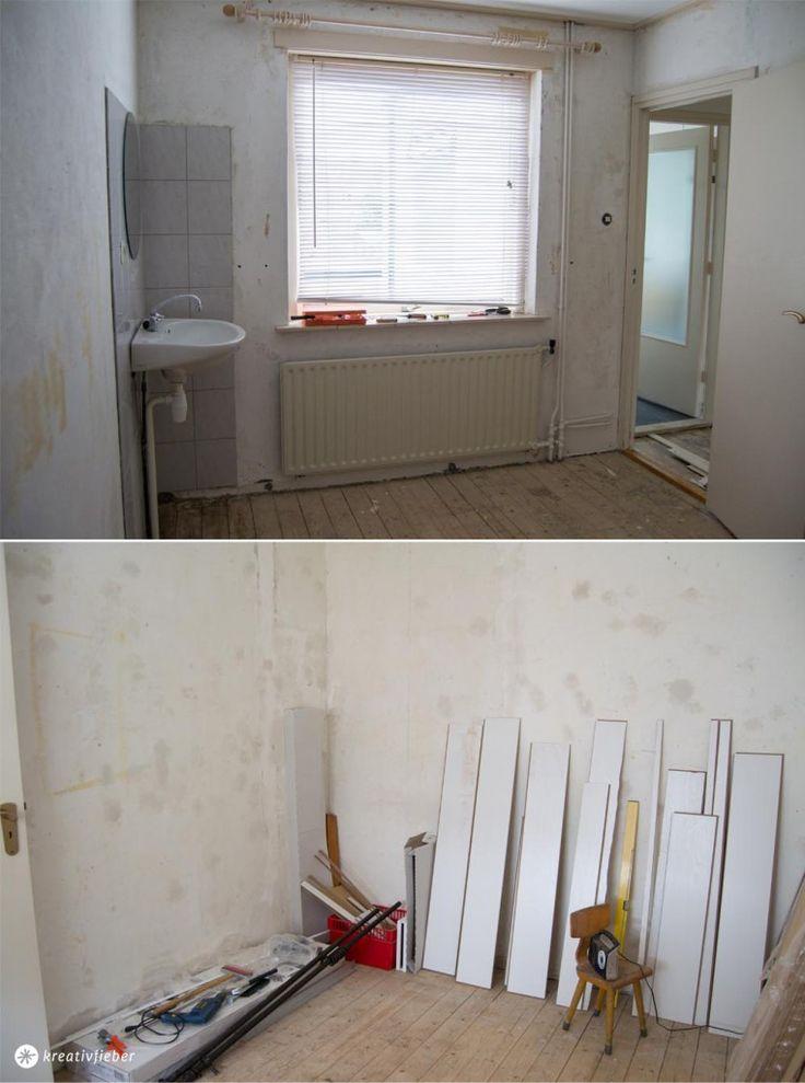 Tapeten abreißen Haus renovieren