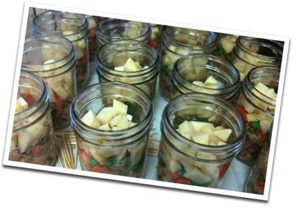 canned chicken pot pie filling: It Work