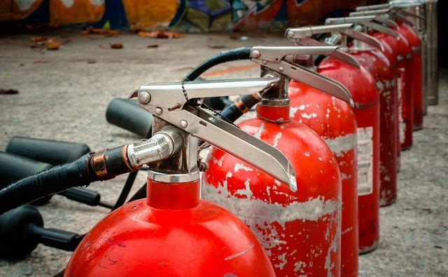 Types Of Fire Extinguishers And How They Function In 2020 With Images Types Of Fire Extinguisher Fire Extinguisher