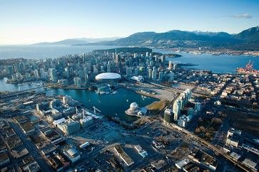 Aerial Vancouver; photo by Tourism British Columbia