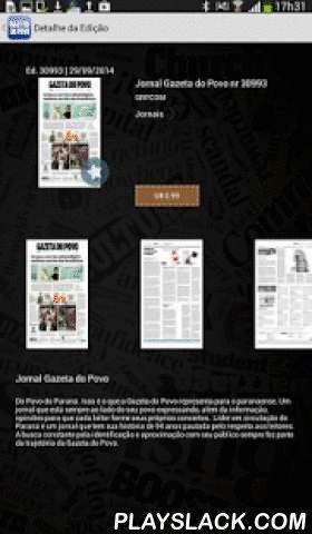 Gazeta Do Povo  Android App - playslack.com , Aplicativo para TABLETS do jornal Gazeta do Povo, principal e mais tradicional periódico do estado do Paraná. Com ele você pode acessar o conteúdo do jornal impresso em versão exclusiva para Android para assinantes ou venda de edições avulsas para demais leitores.