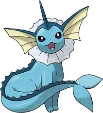 Vaporeon Pokédex: stats, moves, evolution & locations   Pokémon Database