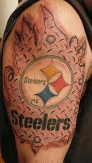 Steelers Tattoo | tattooconnection.com