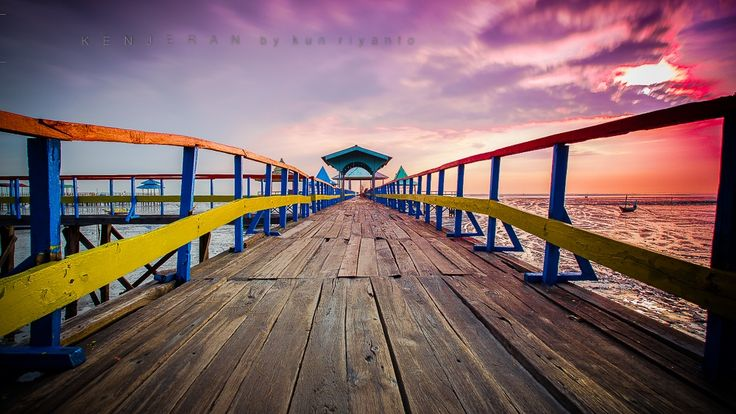 the way of pier on the beach by Kun Riyanto on 500px