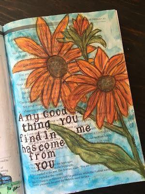 .....Scrappy Happy Mom: Bible Journaling Through the Psalms - Psalm 11-16