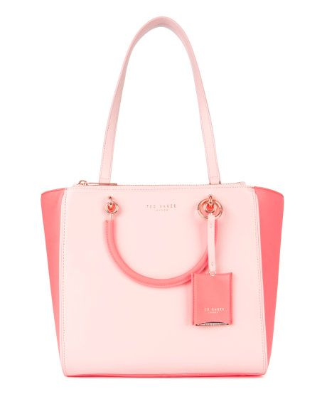 Dimensions H26cm x W34cm x D14.5cm - Light Pink | Bags | Ted Baker – selected by http://munich-and-beyond.com/
