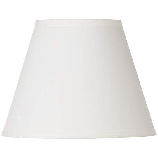 Off White 6x11x8.5 Contemporary Lamp Shade - #EU2N795 - Euro Style Lighting