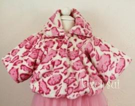 Giraf Fel roze jasje | Jassen en vestjes | Welkom bij DreamBeebz