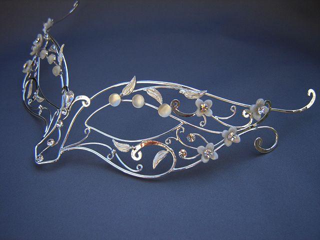 wire masquerade mask | Custom Headdresses Collection | Custom Headpieces | Custom Circlets ...