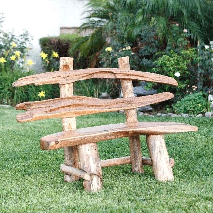 Teak Ranch Bench Treibholz Mobel Treibholz Deko Rustikale Gartenmobel