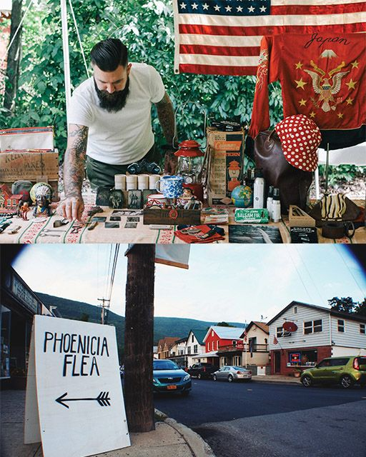 This delightfully quirky flea market in Upstate New York has city slickers heading for the hills! #SweetPaul