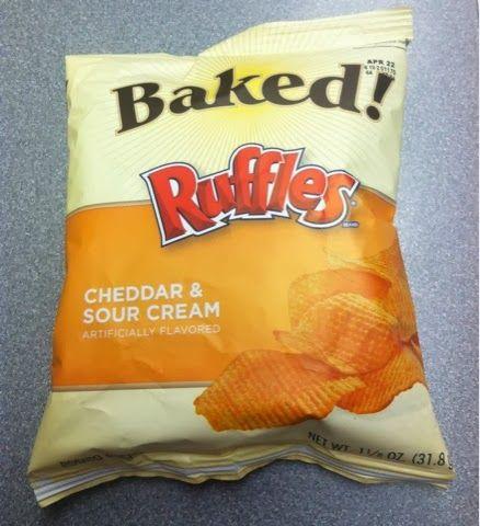 cheddar sour baked cheddar ruffles baked ruffles cheddar cream potato ...