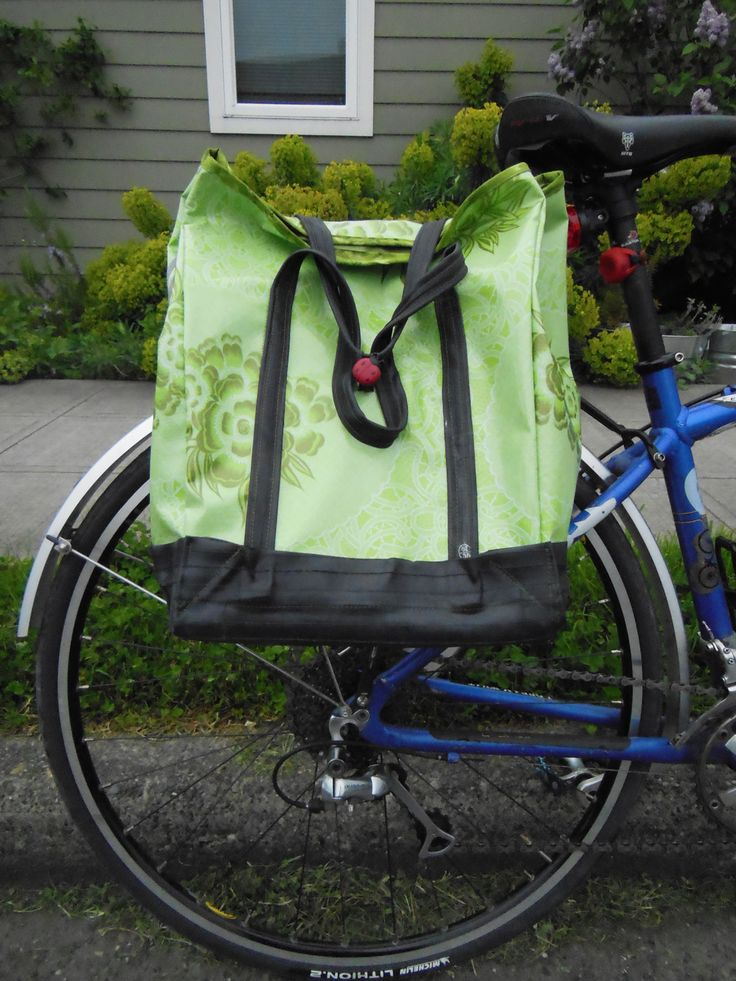 476 best bike repurpose art images on pinterest leather jewelry oilcloth inner tube shopping pannier bicitoro fandeluxe Ebook collections