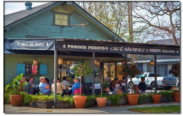Cafe Navarre Menu New Orleans