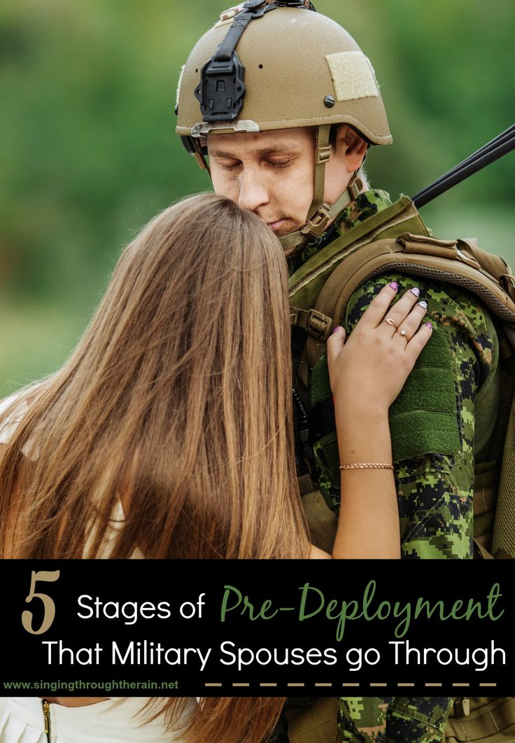5 Stages of Pre-Deployment Military Spouses go Through - Stages we all go through from the moment your spouse gets orders, right up to them leaving! Do any of these sound familiar?