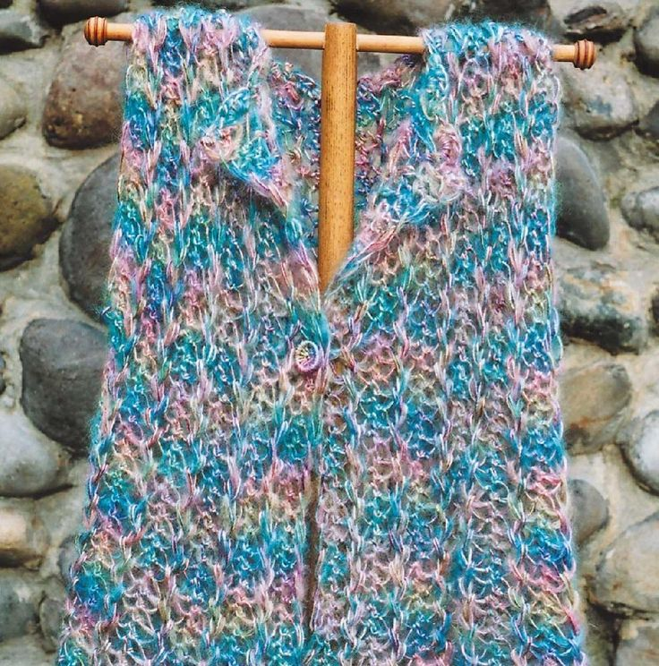 Hairpin Lace Vest