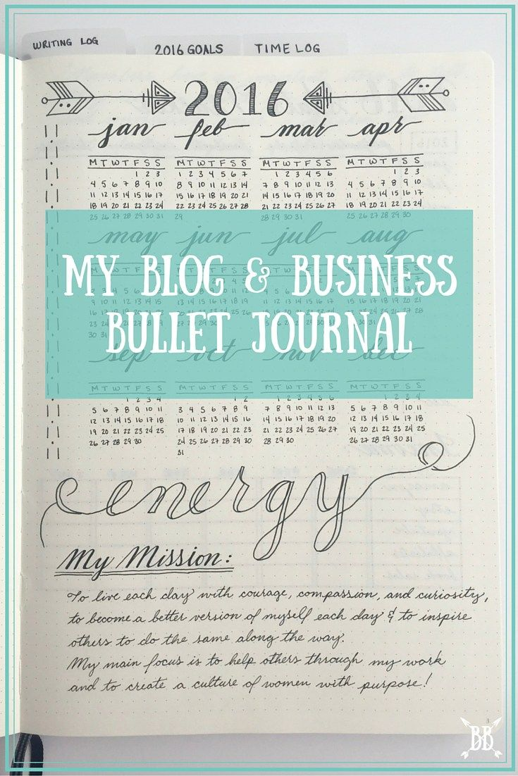 I'm pretty excited to finally give you a glimpse into my blog & business bullet journal today! Let's dive in, shall we?