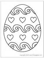 free easter printable coloring pages for use in crafts and other activities - Easter Egg Coloring Pages Crayola