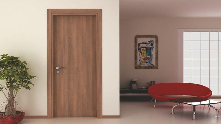 Dokundukça doğallığı hissedeceksiniz. NT1100 Kızıl Ceviz  #door #doors #interiordoors #natural #bakisdoor #kapı