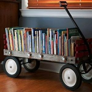 Ideias legais para guardar seus livros | Lista Feminina