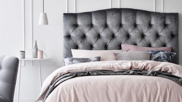 Heatherly Design   Upholstered bedheads, headboards, bedheads, ensemble bedheads