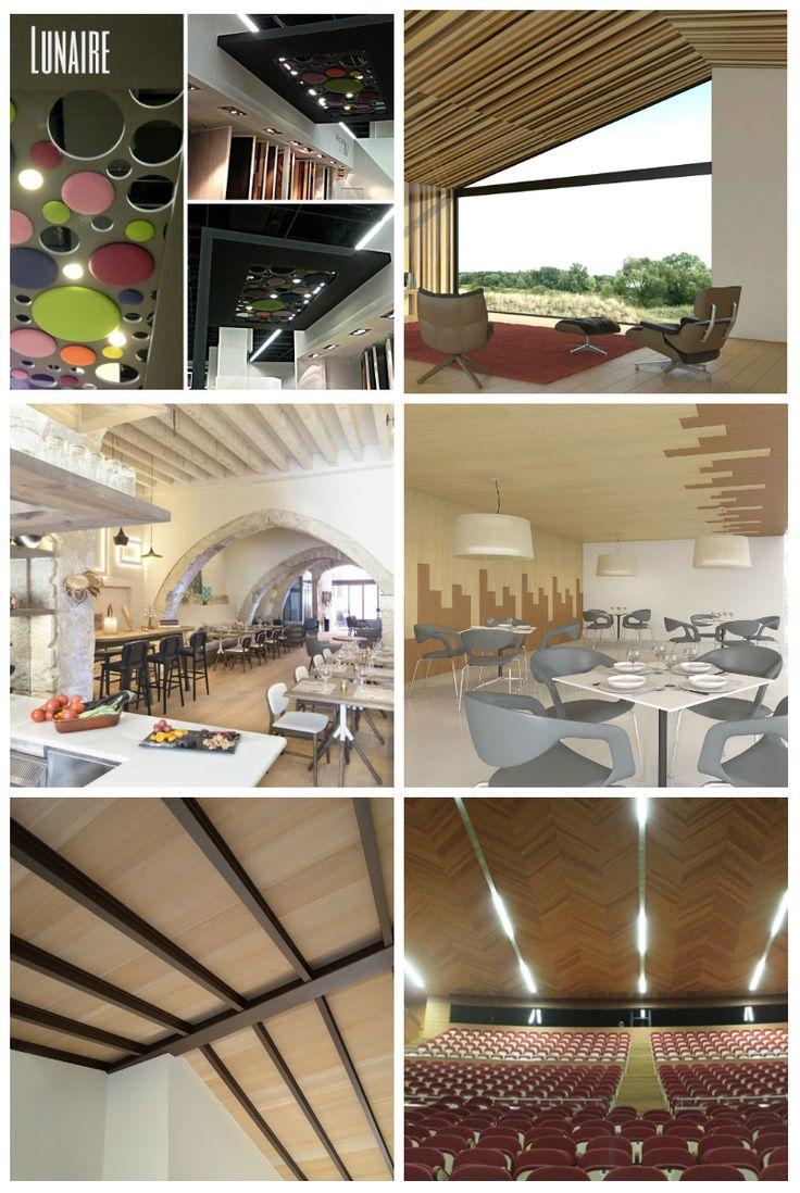 techos de madera decorativos con panel rechapado o mdf lacado muy originales raclimacom