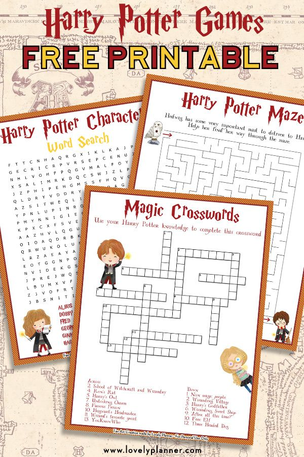 picture about Harry Potter Activities Printable named Harry Potter Maze - Free of charge Printable Children Match Sheet