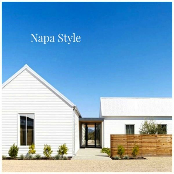 Modern farmhouse style in napa home decorating blog for Modern farmhouse style architecture