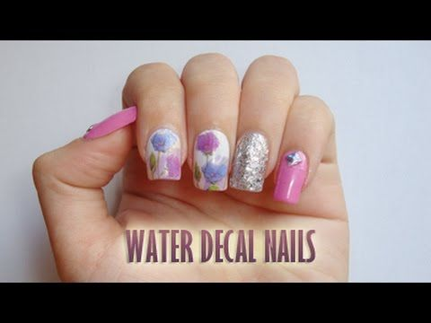 Check out this water decal nails tutorial :D Tutorial