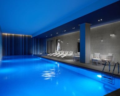 Hilton London Bankside Hotel, GB - Swimming Pool