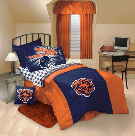 Chicago Bears Comforter and Sheet Set