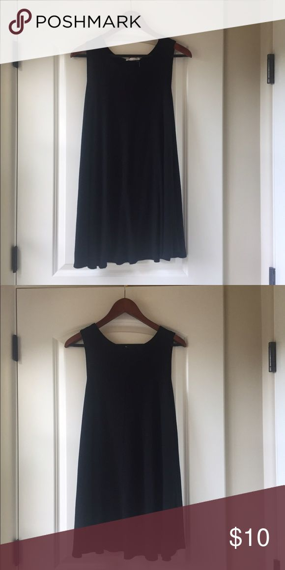 Forever 21 Trapeze Dress Flowy black dress (trapeze style). Never worn. Forever 21 Dresses Mini