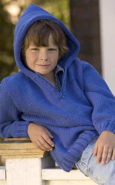 Unicorn Pattern: Kids' Hoodie - Complimentary Knitting Pattern. Free