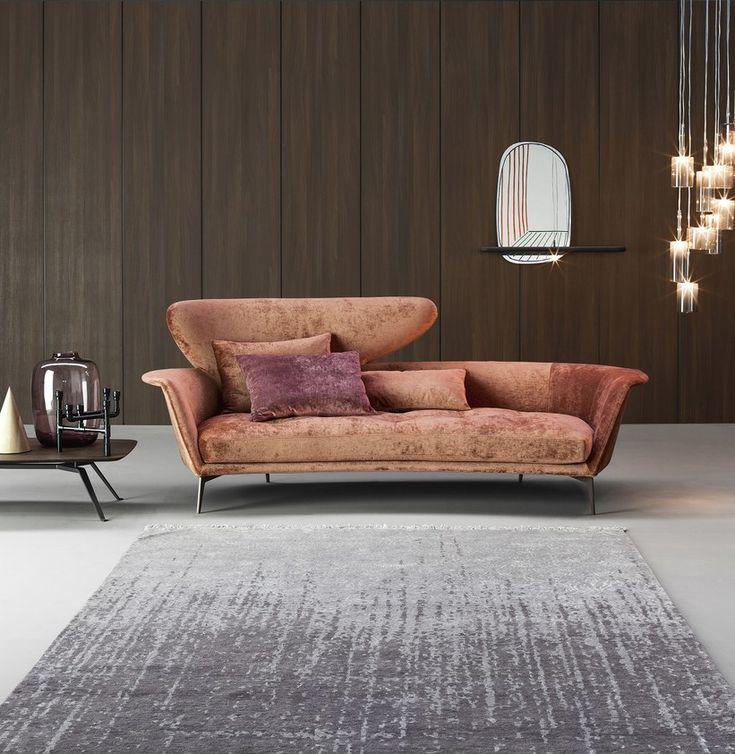 2 seater fabric leisure sofa LOVY by Bonaldo