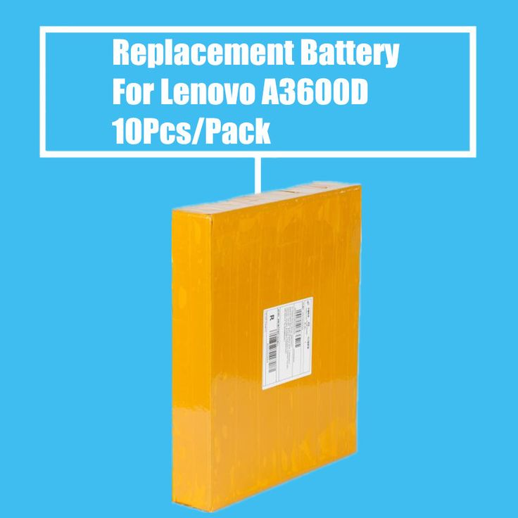 New Arrival 10Pcs/Pack 1700mah Replacement Battery for Lenovo A3600D A3800D High Quality #Affiliate