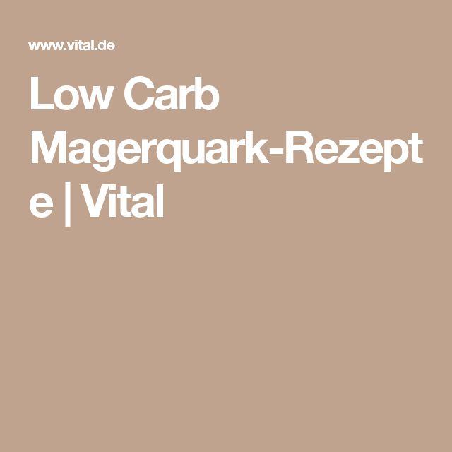 Low Carb Magerquark-Rezepte | Vital