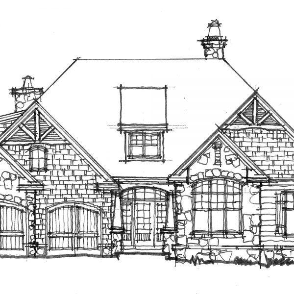CONCEPTUAL HOME PLAN 1440: MODEST COTTAGE - | Cottages
