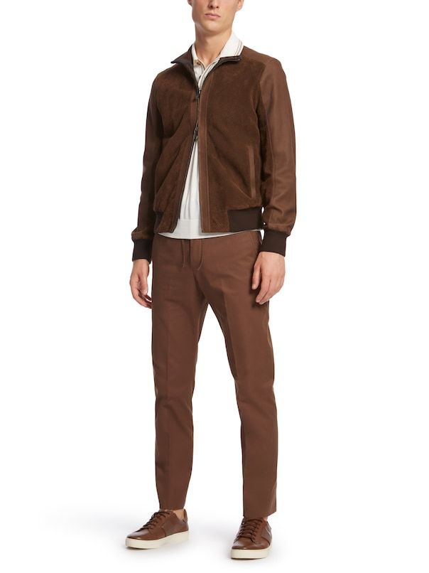 54fecc1e Brown Suede Reversible Jacket: Ermenegildo Zegna | MEN'S FASHION ...