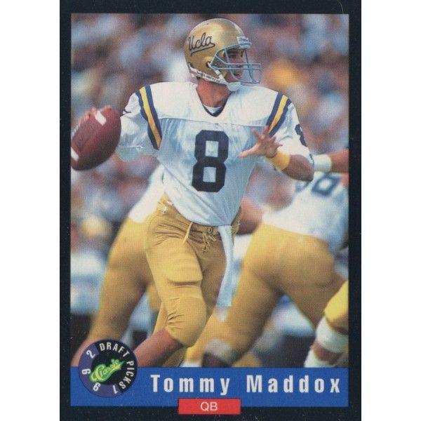 1992 Classic Draft Picks   Tommy Maddox   UCLA   Quarterback   Football
