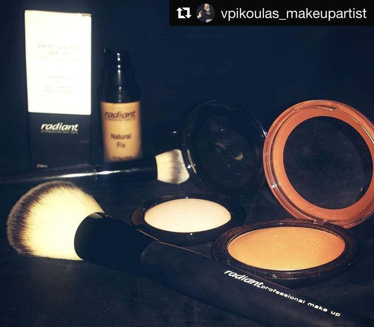 Friday essentials by Radiant Professional. Repost by @vpikoulas_makeupartist…