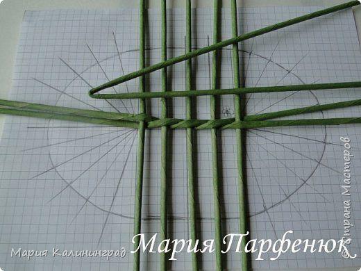 Мастер-класс Поделка изделие Плетение Овальное дно мастер класс Бумага газетная Трубочки бумажные фото 10