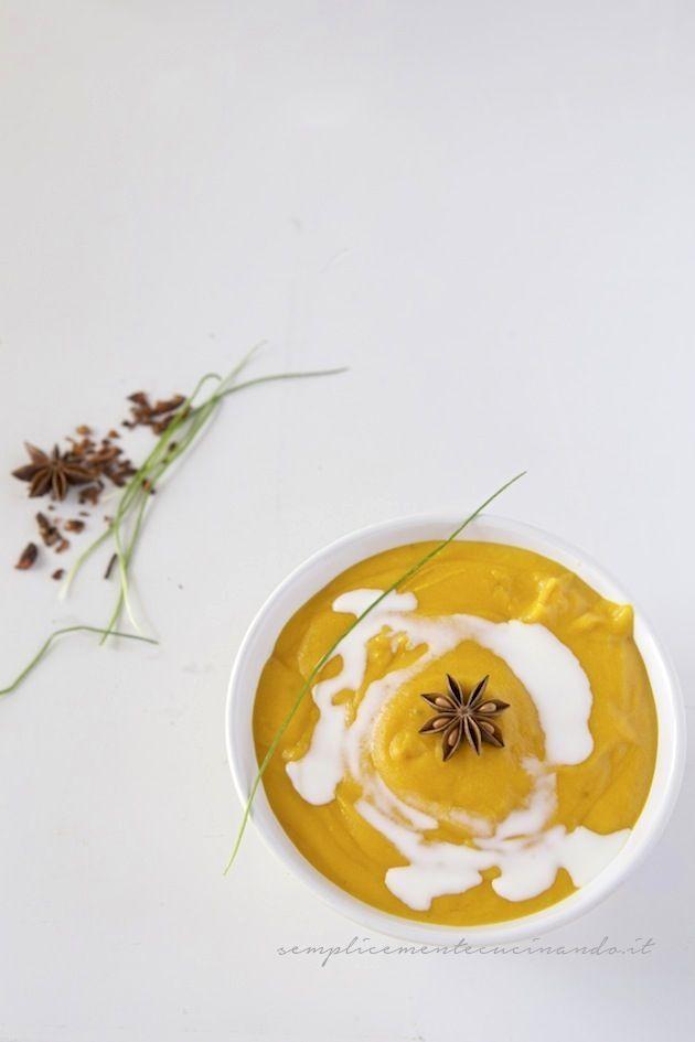 Crema di carote e anice stellato