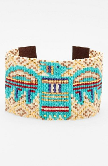 Chan Luu Beaded Leather Bracelet available at #Nordstrom