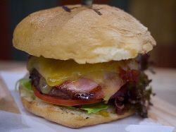 Canada Day food ideas... The canadian burger...